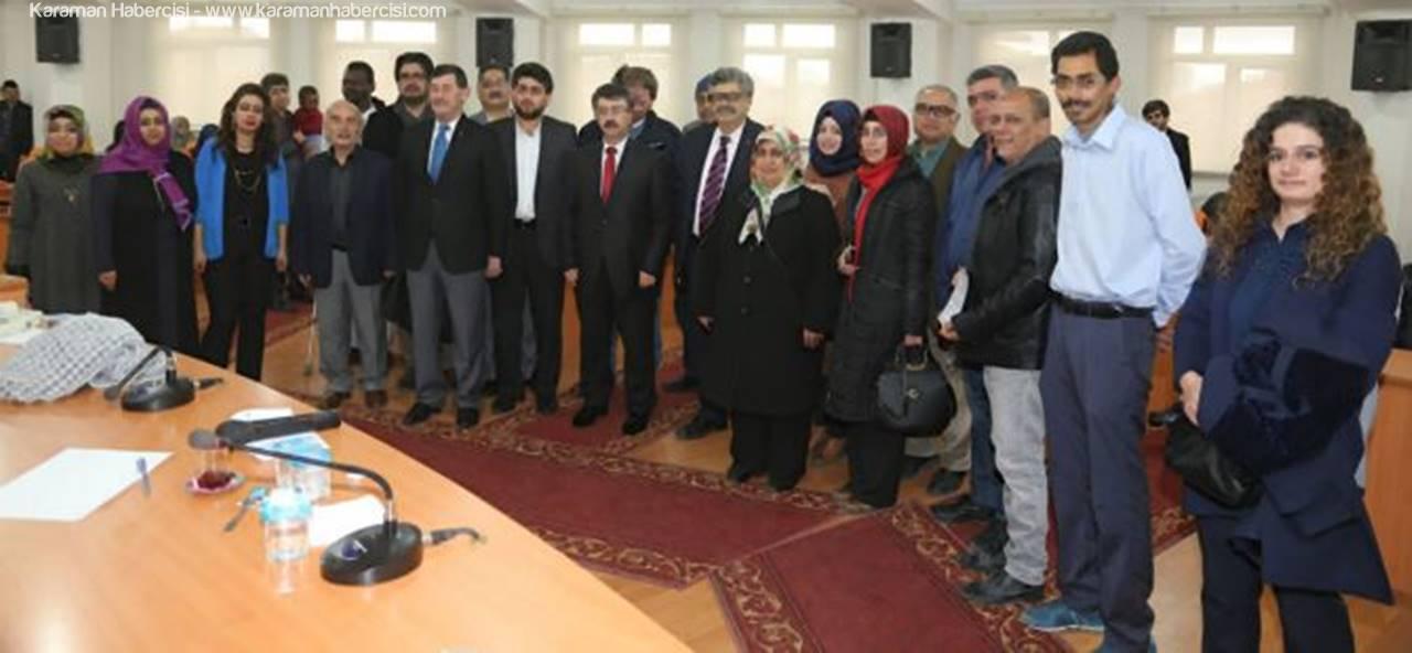 Karaman'da Mültecilere Türkçe Eğitimi
