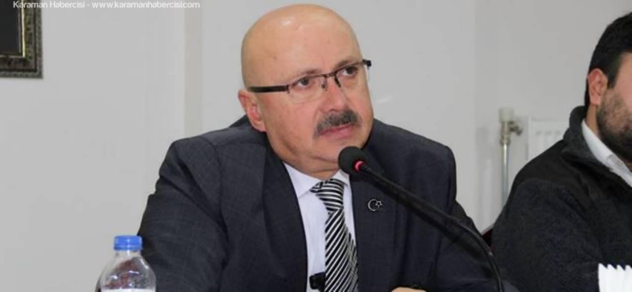 Karaman'ın Sarıveliler İlçe Belediye Başkanı Hayri Samur'dan 2016 Değerlendirmesi
