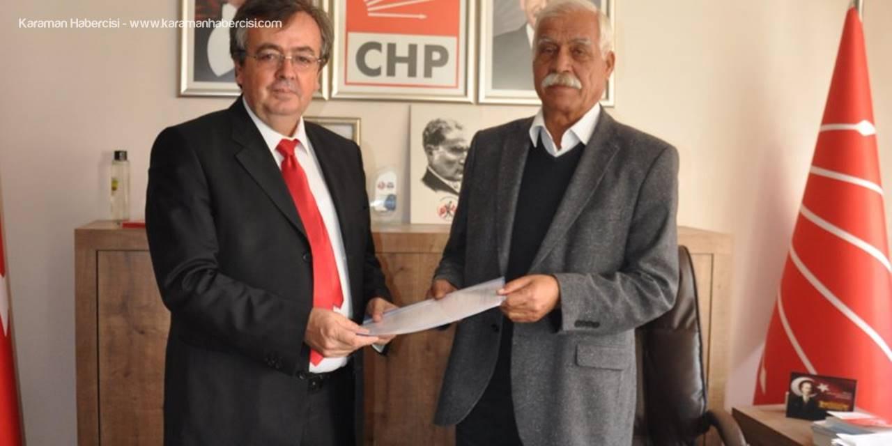 Emin Ege CHP'den Belediye Başkalığına Aday Adaylığını Açıkladı