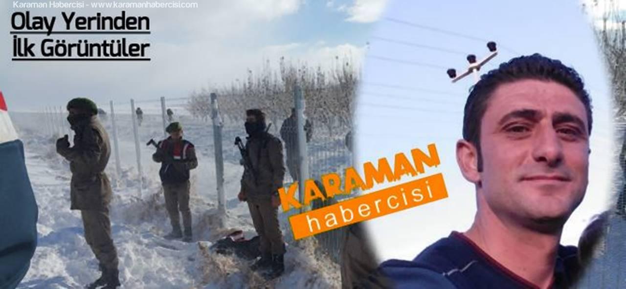 Karaman'da Kayıp Vatandaşın Donmuş Bedenine Ulaşıldı