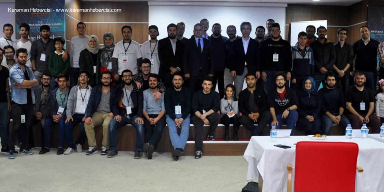 Karaman ve Konya'dan 45 Öğrenci Yarıştı