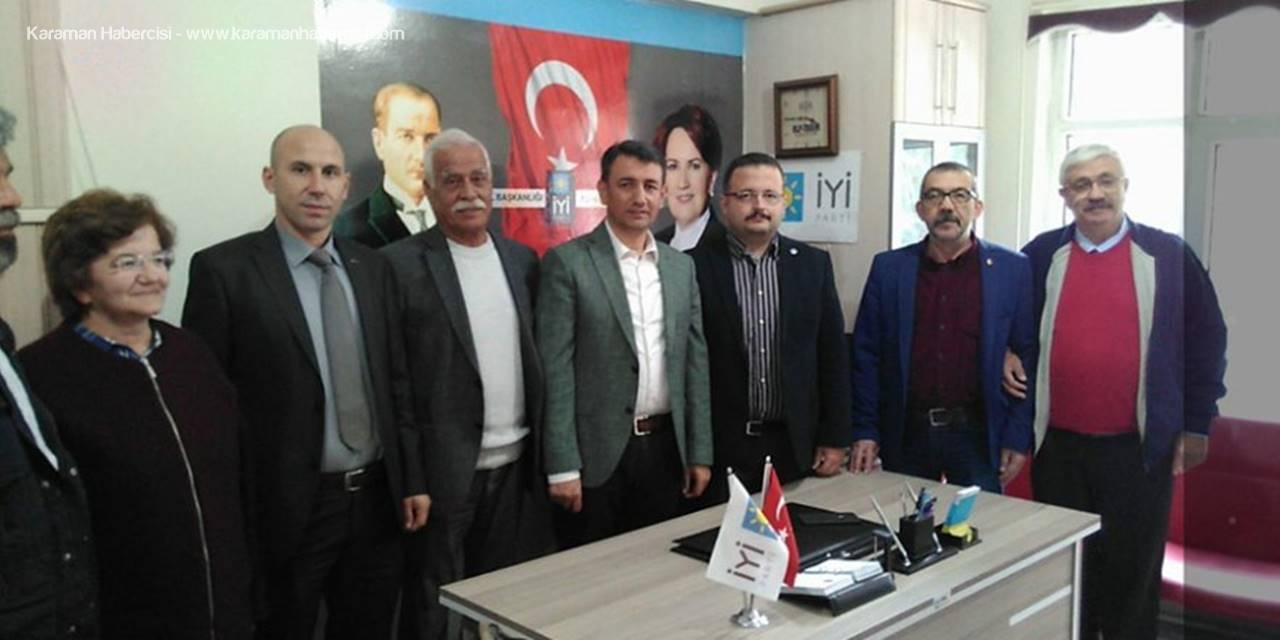 CHP Karaman İl Örgütünden İyi Parti'ye Ziyaret