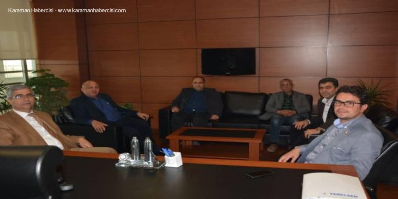 Karaman Cumhuriyet Başsavcısı Ali İrfan Yılmaz'dan KTSO'ya İade-i Ziyaret
