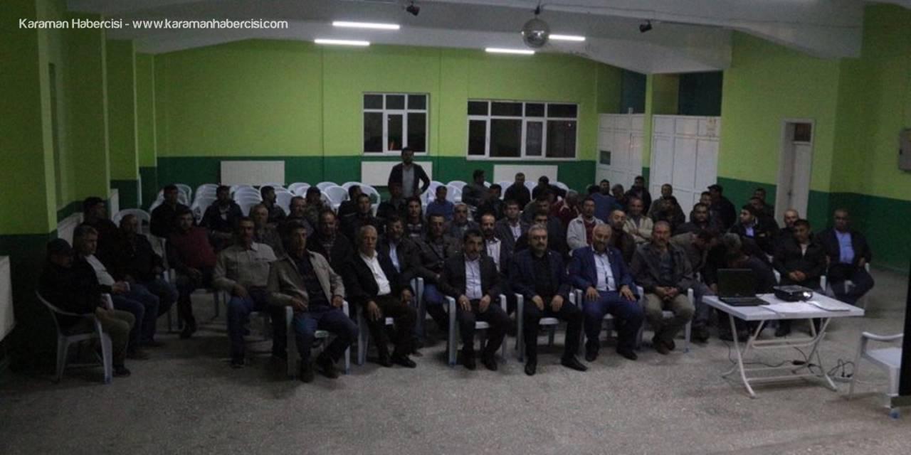 Karaman Ziraat Odası Sürü Yönetimi Eğitimi
