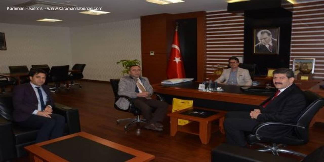 PTT Başmüdürlüğü'nden KTSO Başkanı M. Gökhan Alkan'a Hayırlı Olsun Ziyareti