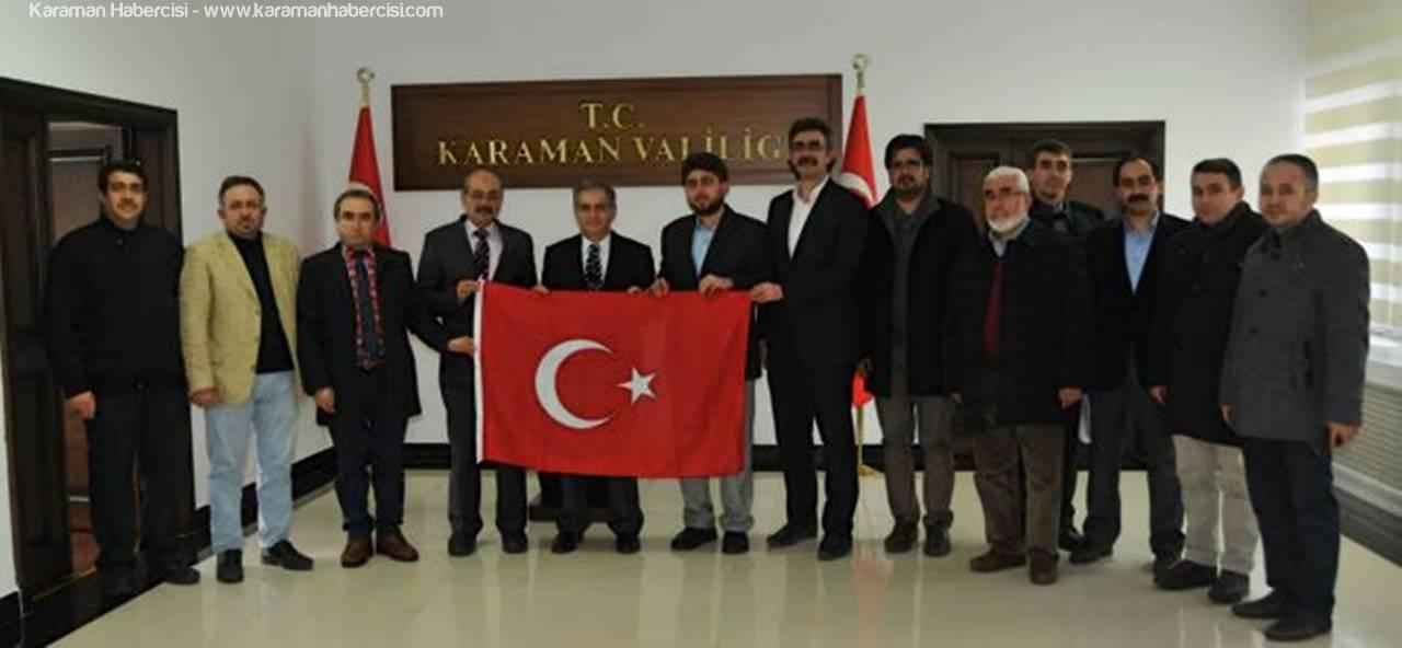 STK Temsilcileri Vali Tapsız'a, Un Kampanyasını Anlattılar
