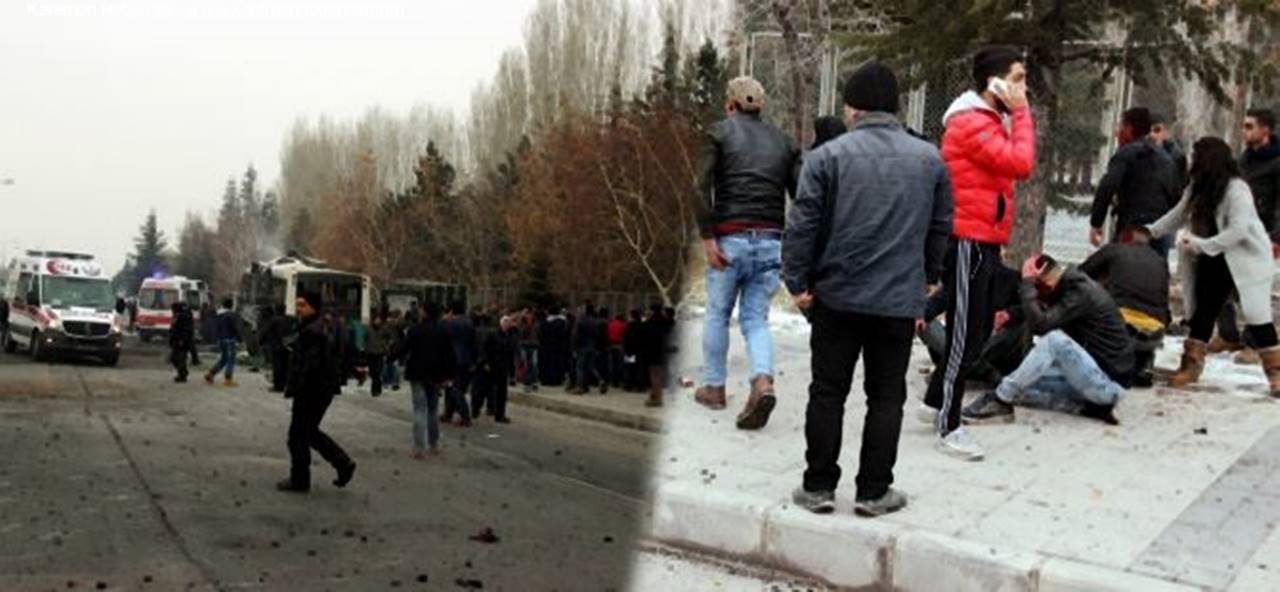 Kayseri'de Askere Hain Saldırı