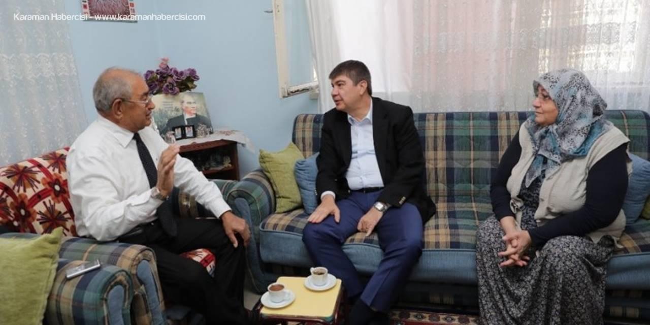 Başkan Menderes Türel'den Gaziye Ziyaret