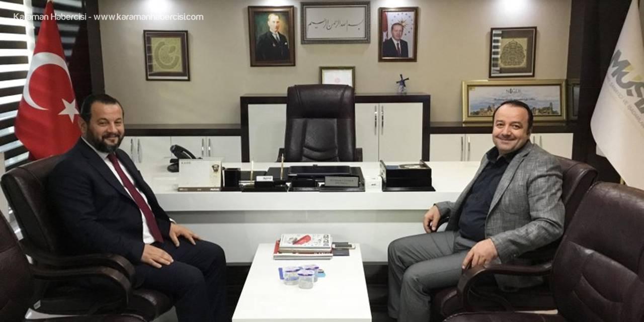 Rektör Akgül'den Müsiad'a Ziyaret