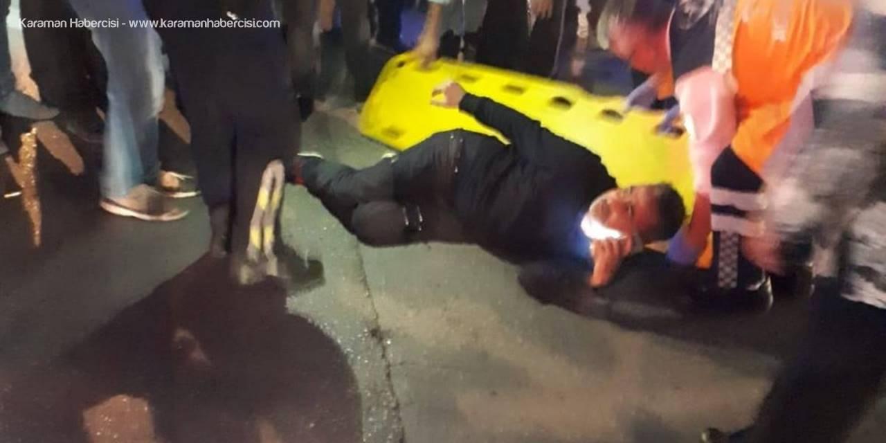 Silahlı Saldırıda Yaralandı, Telefonu Elinden Bırakmadı