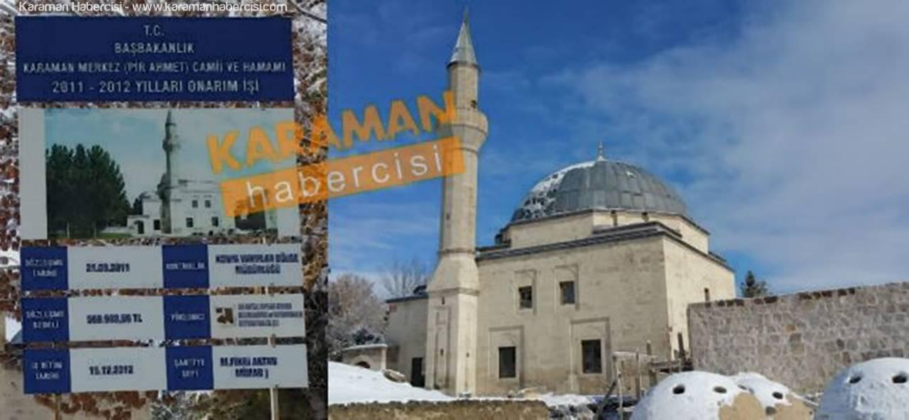 Konya Vakıflardan Karaman'a Üvey Evlat Muamelesi