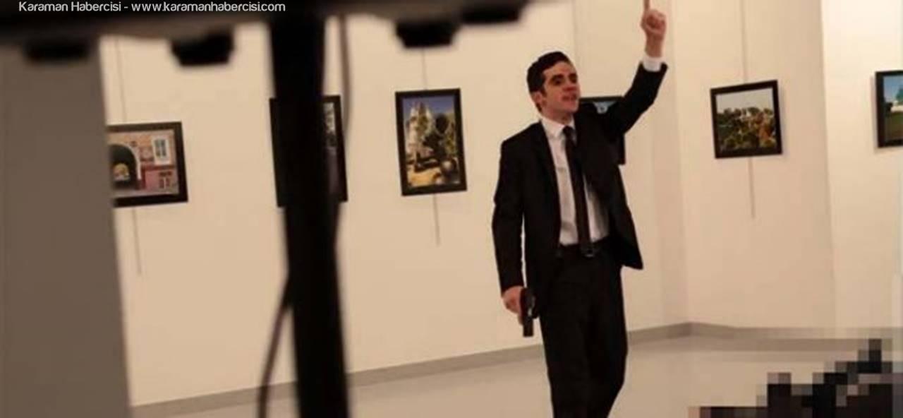 Fetöcü Polisten Rus Büyükelçi Andrey Karlov'a Suikast