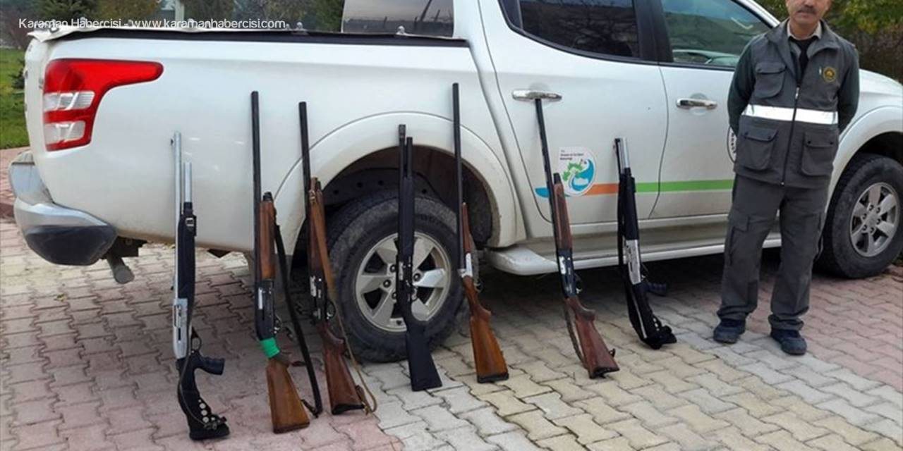 Konya Bölgesinde Yasa Dışı Avcılara 14 Bin Lira Cezası Kesildi