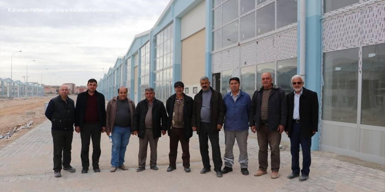 Karaman'a Yeni Küçük Sanayi Sitesi