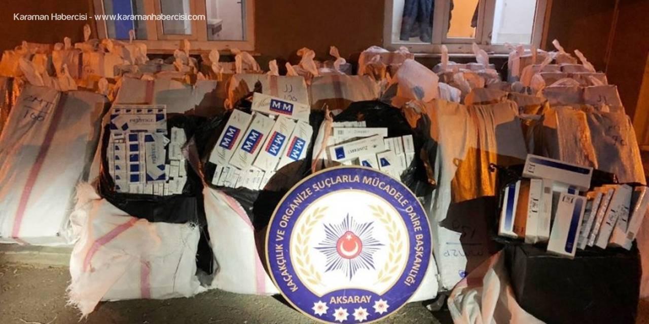 Aksaray'da Kaçak içki ve Uyuşturucu Operasyonu