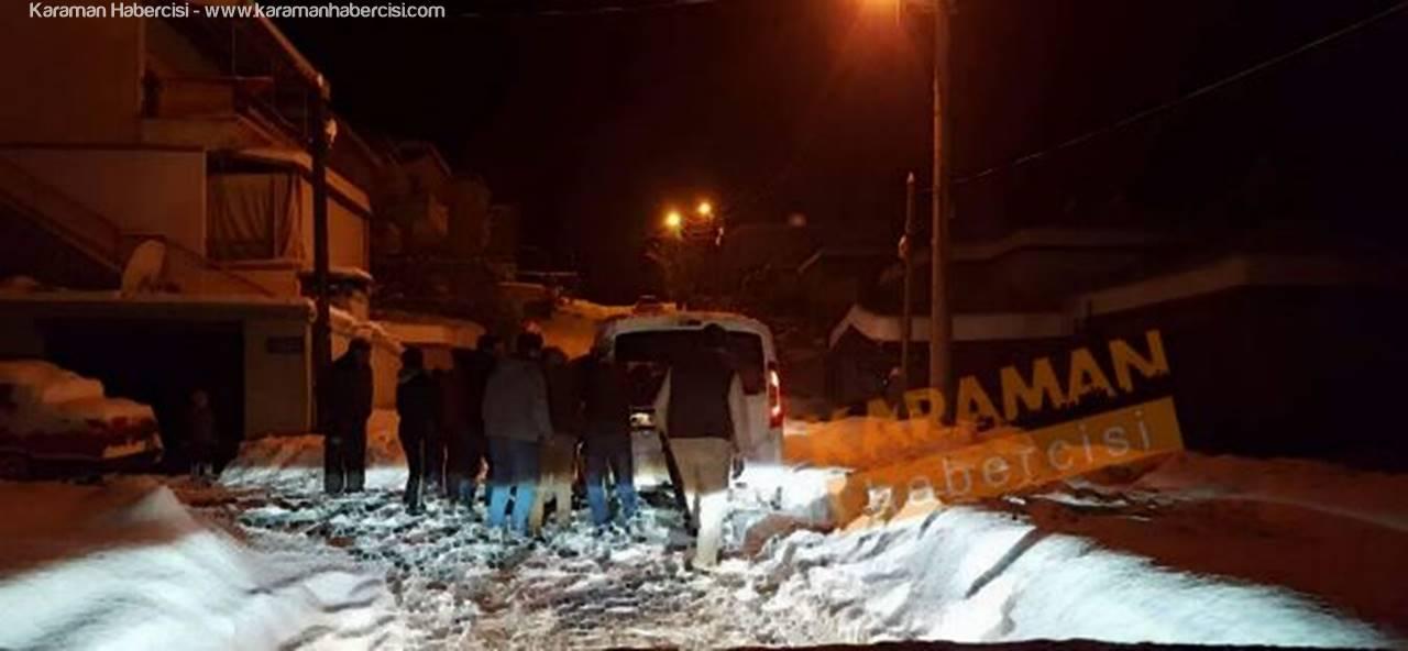 Karaman'da Kalp Krizi Geçiren Vatandaş Hayatını Kaybetti