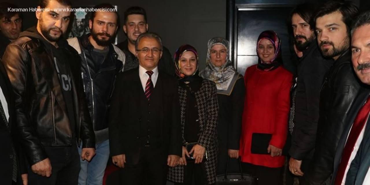 Aksaray'da Çekilen 'Deliler Fatih'in Fermanı' Filminin Galası Yapıldı