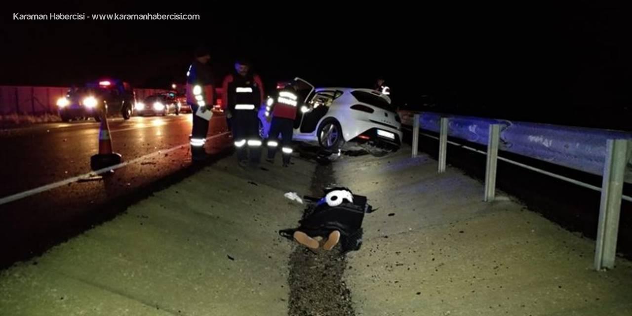 Konya'da Korkunç Trafik Kazası:2 Ölü, 1Yaralı