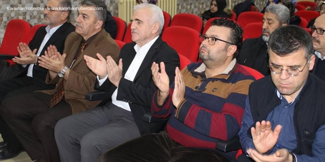 Karaman'da Din Kültürü Öğretmenlerine Seminer verildi