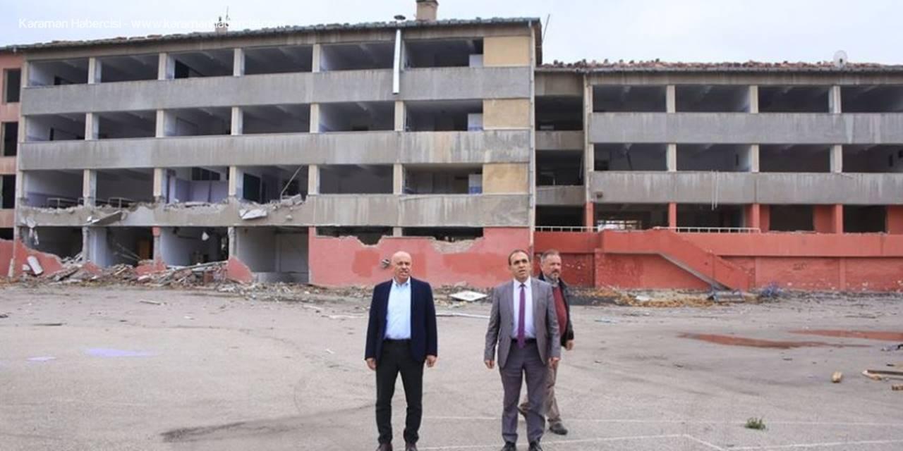 Karaman  Aktekke kent Meydanında Yeni Projeler