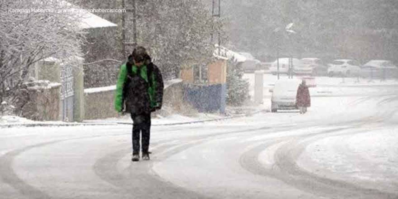 Meteorolojiden Karaman, Konya, Aksaray, Niğde İçin Kar Uyarısı