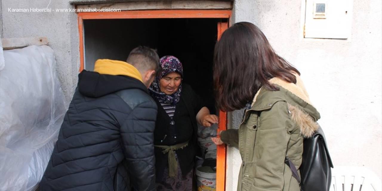 Aksaray'da Hindileri Çalınan Kadına Haluk Leven'ten Yardım
