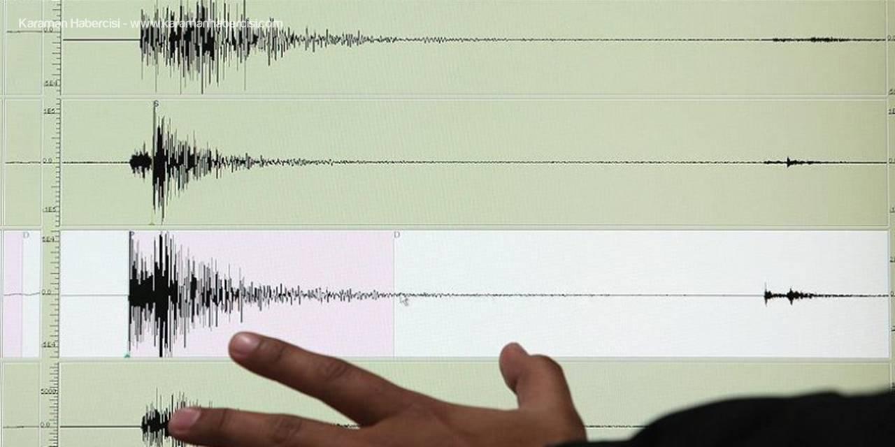 Akdeniz'de 4.2 Şiddetinde Deprem