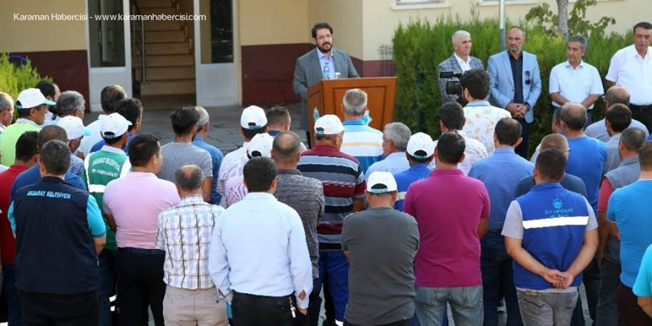 Aksaray'da 152 İşçiye 132 Bin Lira İkramiye