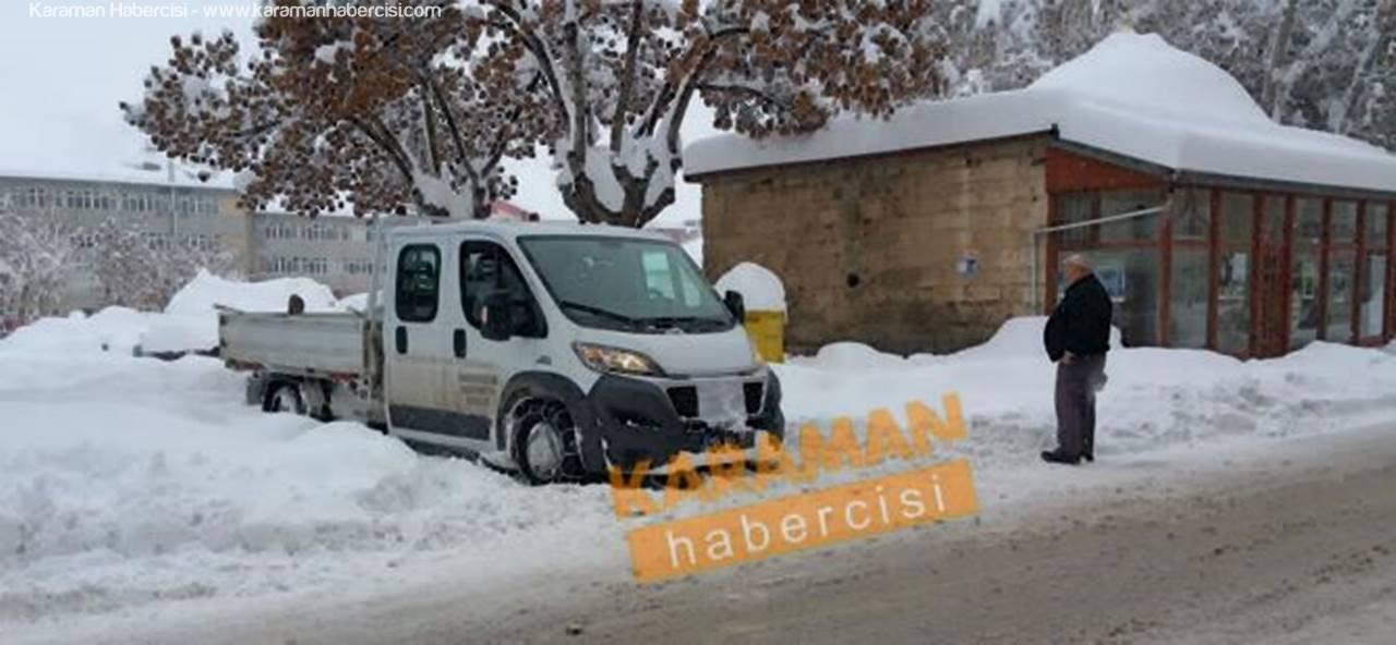 Karaman Belediyesi Kar ve Buz Çözücü Solüsyon İhalesinde