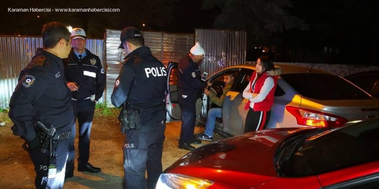 Aksaray'da Polisin üzerine Araç süren Alkollü Sürücü Kaçamadı