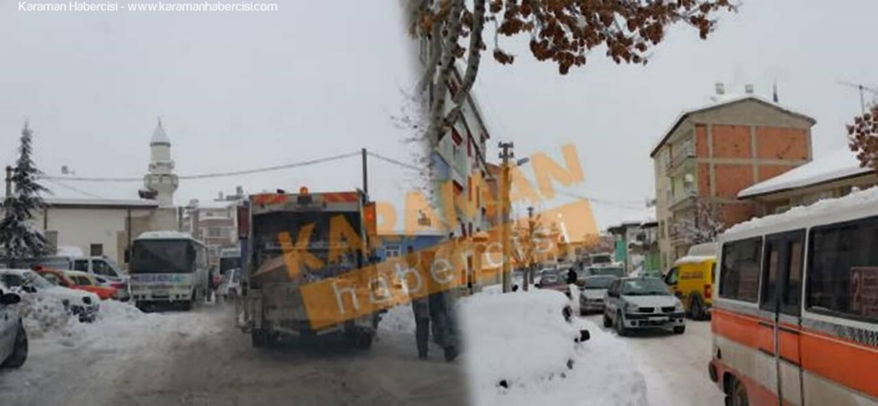 Karaman'da Sorumsuzca Park Eden Araçlar Trafiği Zorluyor