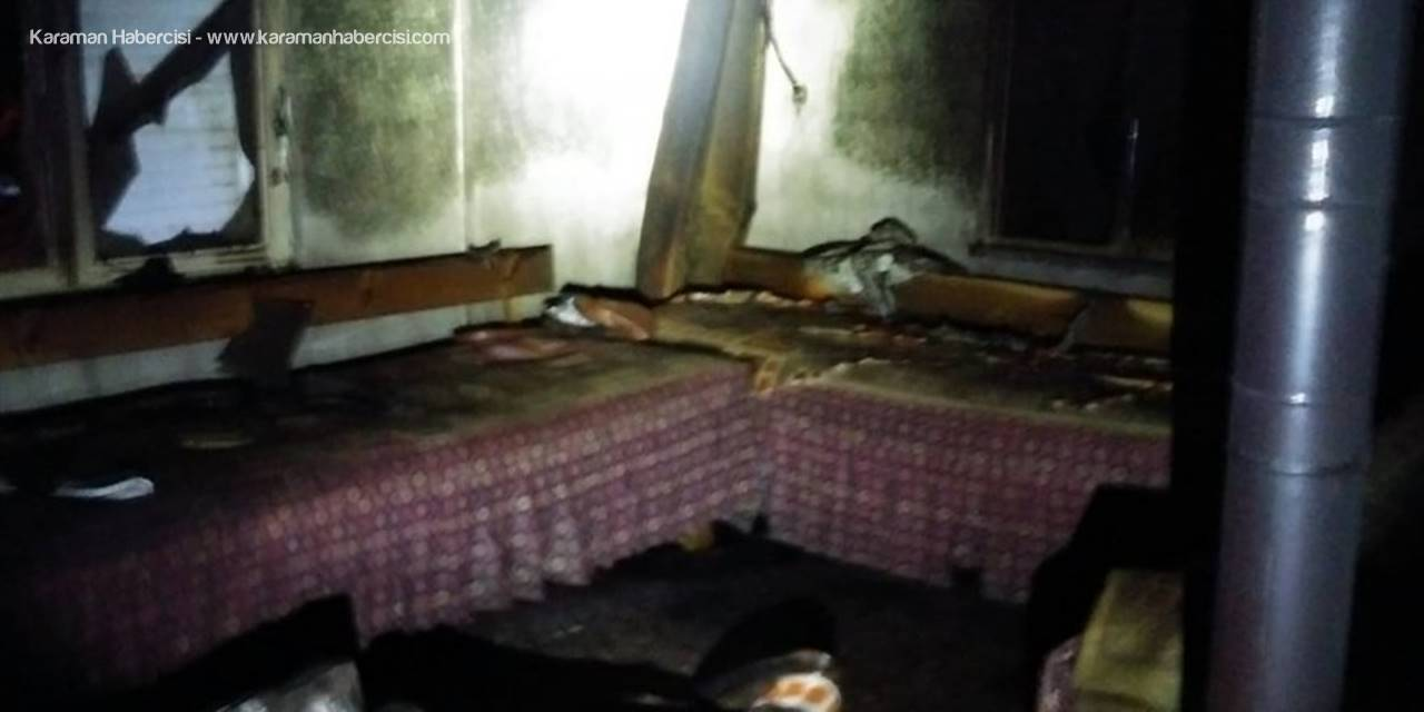 Antalya'da Ev Yangını
