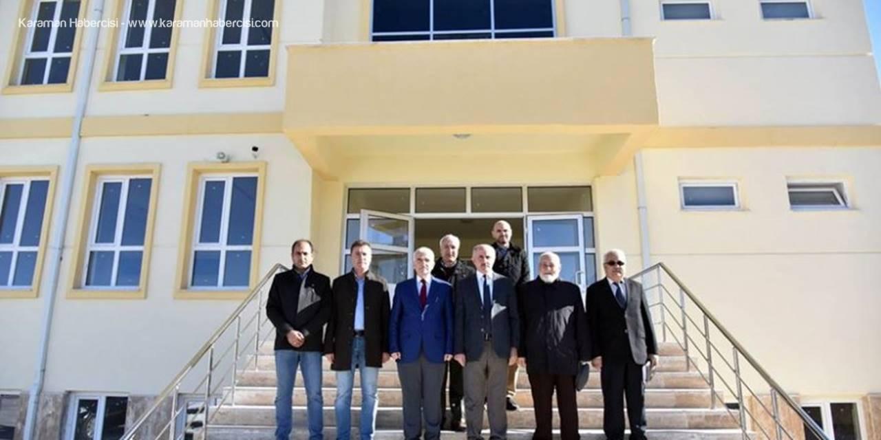 Karaman Valisi Fahri Meral İmam Hatip Ortaokuluna İlişkin Bilgiler Aldı