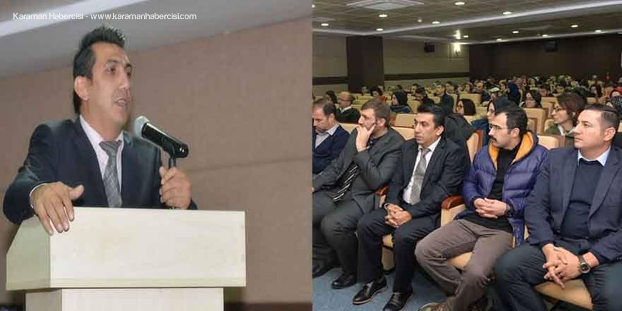 KMÜ'de 'Özel Eğitim Günleri' Konulu Panel Düzenlendi