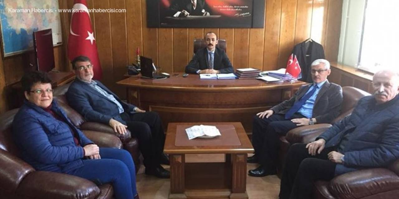 İl Genel Meclisi'nden  Kazımkarabekir'e Ziyaret