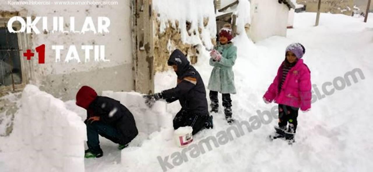 Karaman'da Temizlenemeyen Yollar Öğrencilere Yarıyor!/mu?