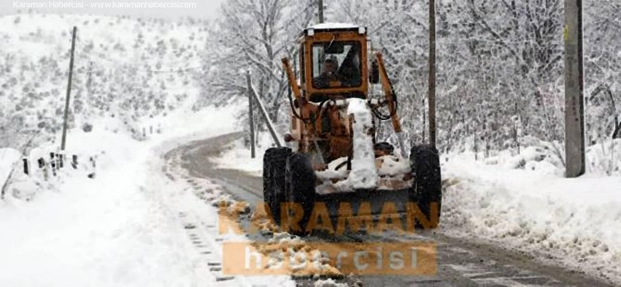Karaman'ın Köy Yollarında Son Durum