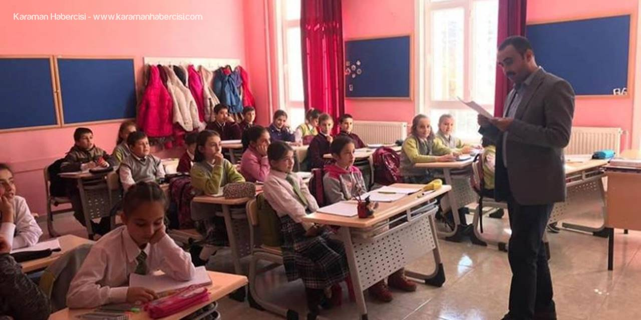 Karaman Başyayla  İlçesi Kaymakamı Okulları Ziyarette Etti