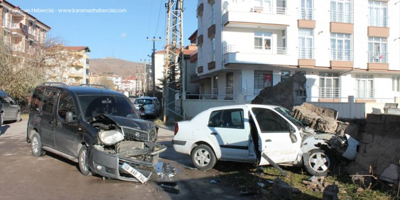 Aksaray'da Korkutan Trafik Kazası