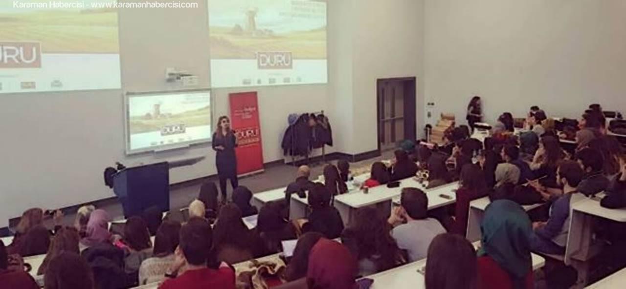 Duru Bulgur'dan Üniversite Öğrencilerine Ders