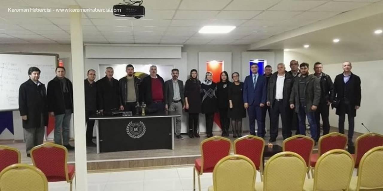 Karaman'da İşçilik Alacakları Eğitimi Verildi