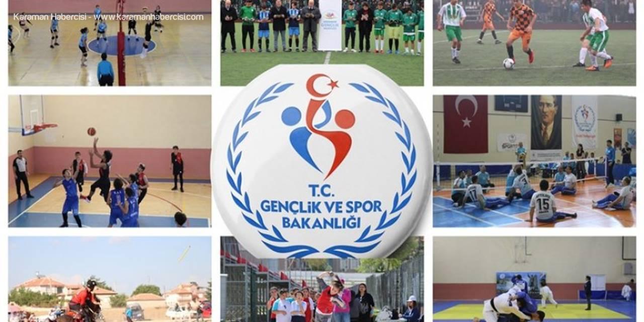 Karaman'da 2018 Yılı Sporun ve Gençliğin Yılı Oldu