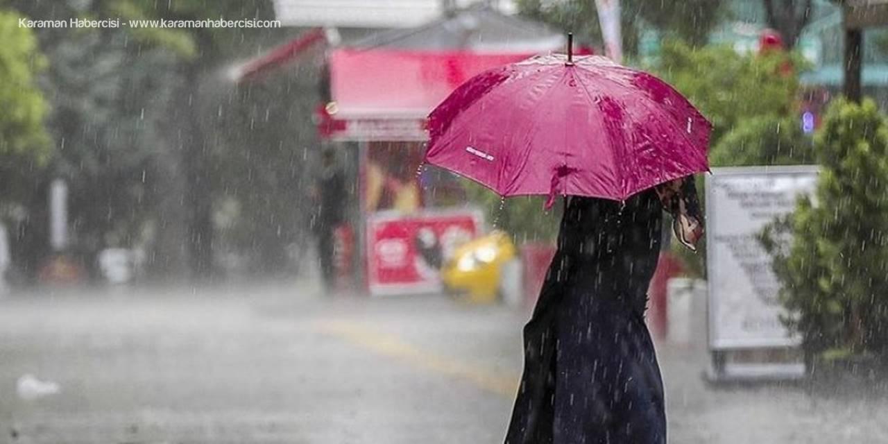 Meteorolojiden İç Anadolu İçin Yağış Uyarısı
