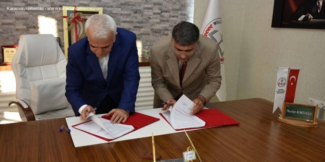 Karaman'da İlk Kıble Mescid-i Aksa'yı Tanıtacak Protokol İmzalandı