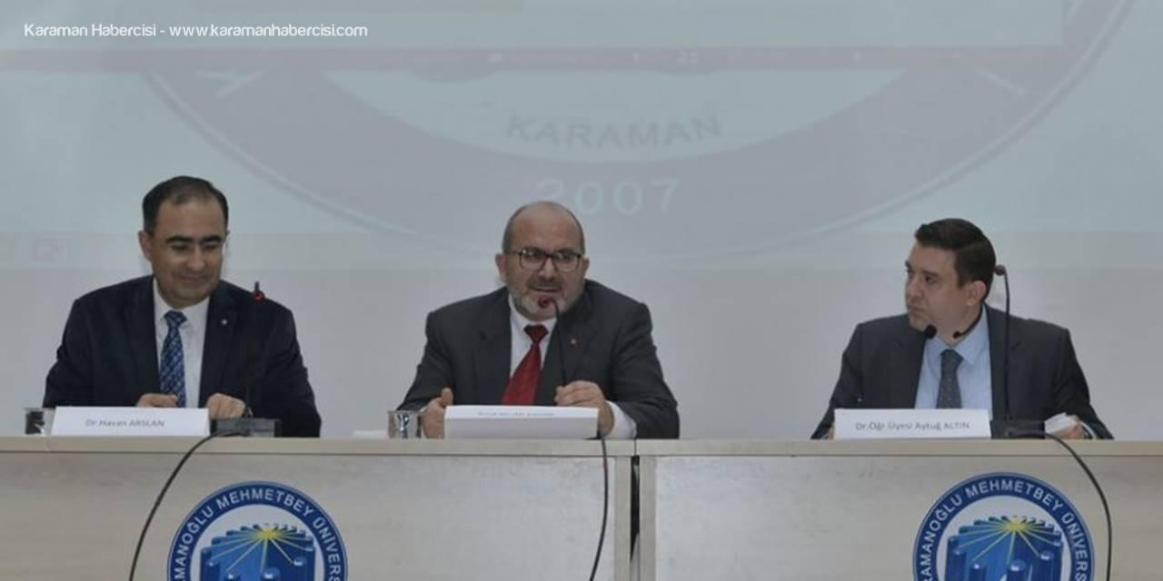 Karaman'da Sağlık Yöneticileri Günü Paneli Düzenlendi
