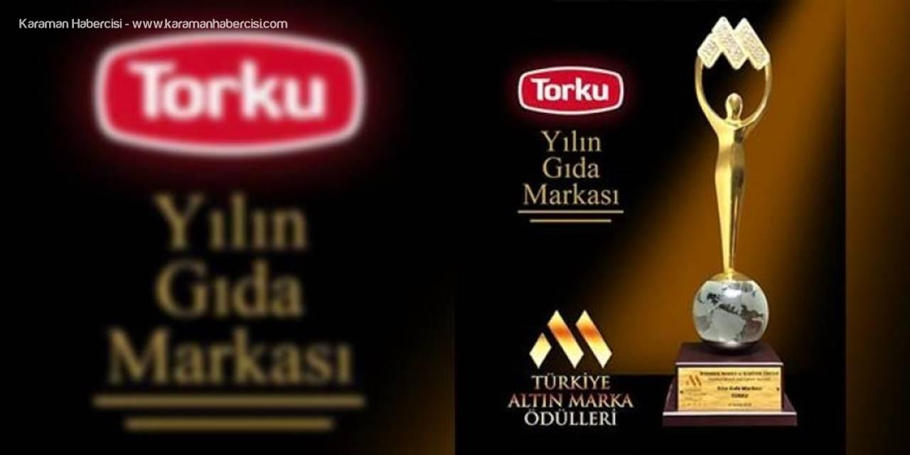 Altın Marka Ödülleri Sahiplerini Buldu; Yılın Gıda Markası Torku Oldu