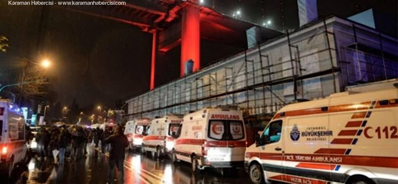 Türkiye Yeni Yıla Reina'daki Katliamla Girdi