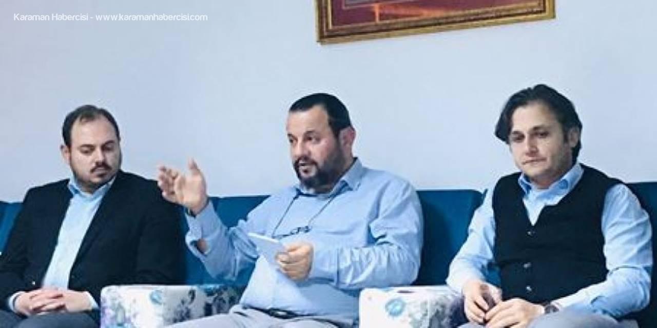 'Muhabbetten Marifete Yolculuk' Adlı Söyleşiye KMÜ Rektörü Mehmet Akgül Konuk Oldu