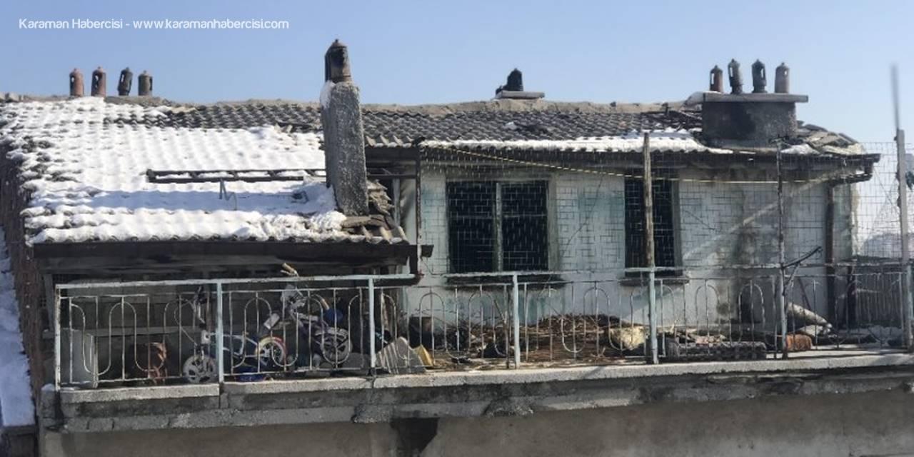 Konya'da Çıkan Yangında 4 Çocuk Hayatını Kaybetti
