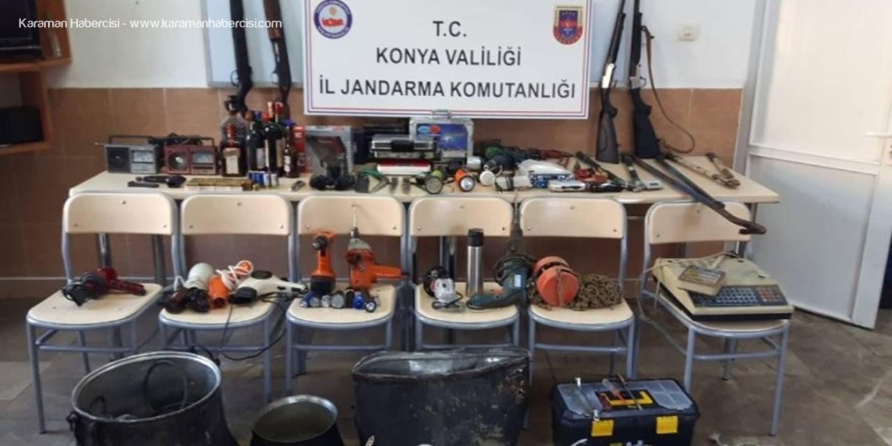 Konya'da Hırsızlık Operasyonu: 4 Gözaltı